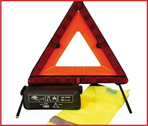 Accessori di emergenza triangolo auto
