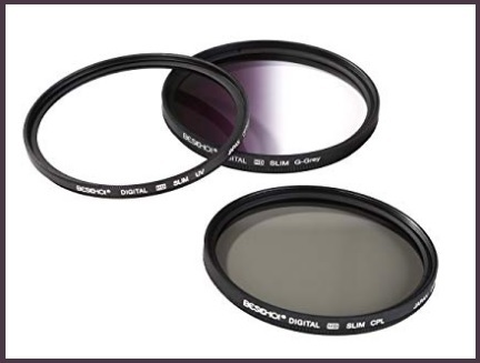 Accessori per obiettivi fotocamera