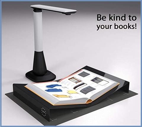 Scanner libri accessori