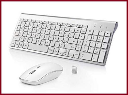 Accessori per tastiere e mouse wireless