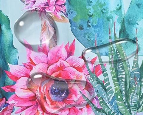 Accessori per tende da doccia floreale