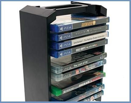 Accessori videogiochi storage tower