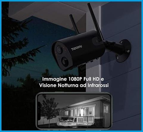 Videosorveglianza Esterna Wifi Night Vision