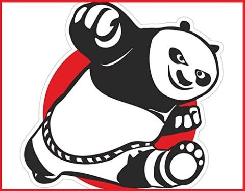 Adesivi Camper Panda