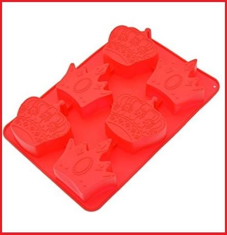 Stampo silicone a forma di corone rosse