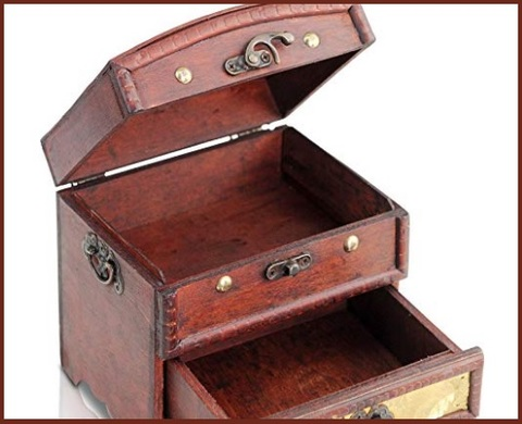 Accessori per casa vintage cassaforte