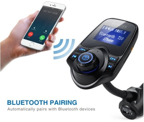 Trasmettitore Bluetooth Con Smartphone Per Auto