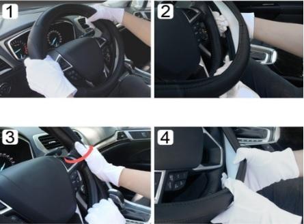 Coprivolante In Microfibra Per Auto