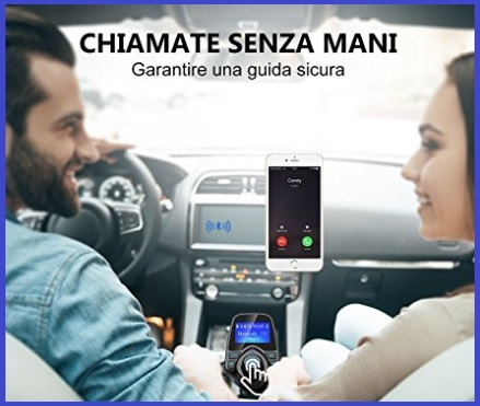 Accessori Auto Cellulare Bluetooth