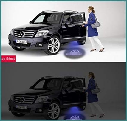 Accessori per auto led