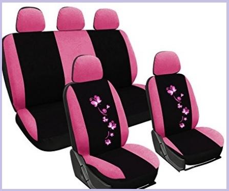 Accessori per auto rosa universali
