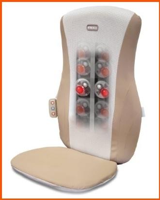 Sedia per massaggio shiatsu con calore
