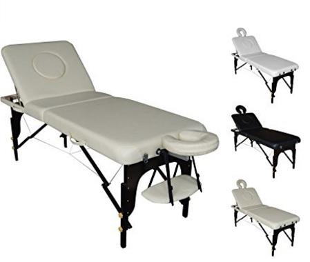 Lettino portatile resistente per massaggi ed estetica
