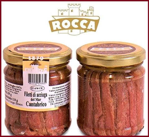 Acciughe Cantabrico Filetti