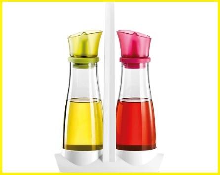 Acetiera e oliera vetro