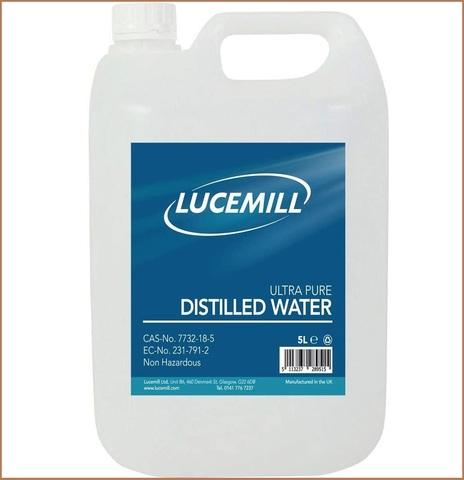 Acqua distillata 5 litri