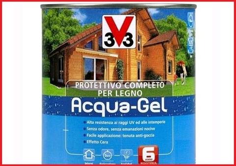 Acqua gel protettivo legno