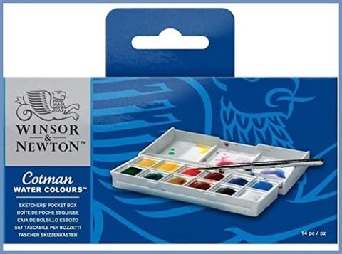 Acquarelli Windsor Newton Professionali