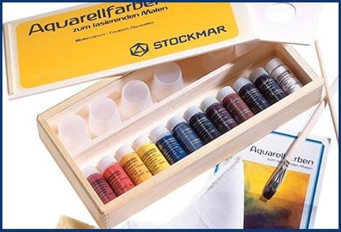 Acquarelli stockmar in scatola