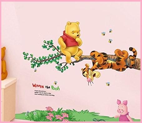 Adesivi Murali Bambini Winnie The Pooh