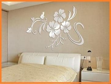 Adesivi Murali Fiori 3d