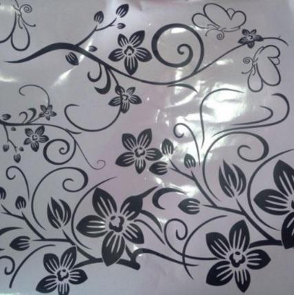 Adesivi sticker tema floreale per la casa