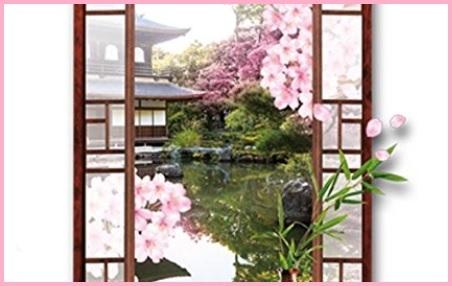 Adesivi Trompe L'oeil Giappone