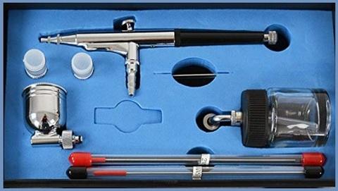 Aerografo per unghie con accessori