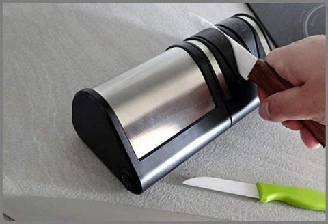 Affilacoltelli ceramica elettrico