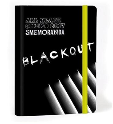 Diario All Black Smemoranda Per La Scuola