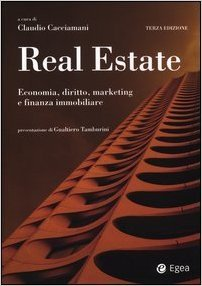 Libro di economia diritto e marketing per immobiliari
