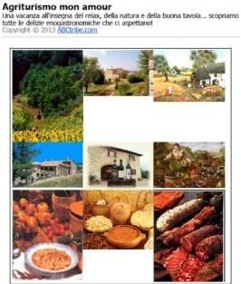 Agriturismo mon amour libro italia