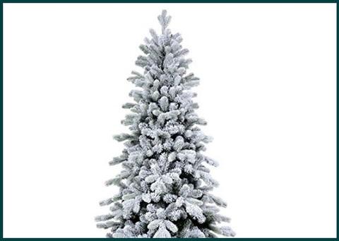 Alberi Di Natale 240 Cm Innevato