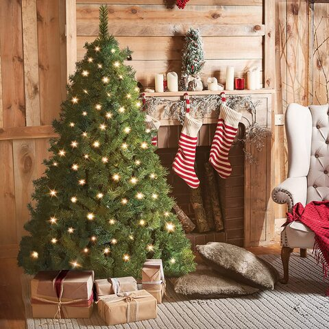 Alberi Di Natale 240 Cm Con Luci