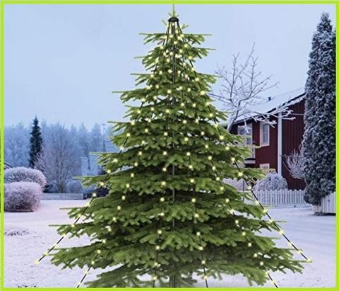 Albero Di Natale Da Esterno Illuminato