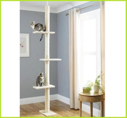 Albero tiragraffi per gatti alto
