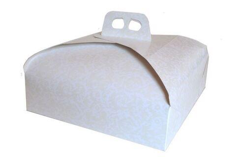 Scatole A Cupola Con Maniglia Per Torte  Cm. 19 X 19 + 7h.