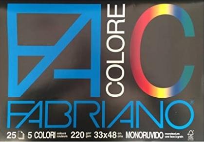 Bianco Carta 2x33x24 cm 10 unit/à Viscio Trading 122861 Album Fabriano