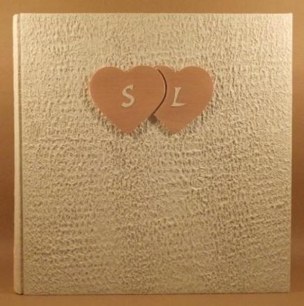 Album Matrimonio Copertina E Cuori In Legno