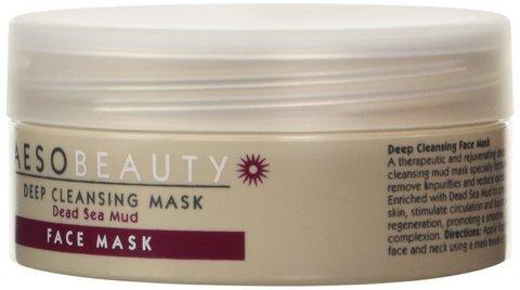 Maschera per il viso speciale al fango nero del mar morto