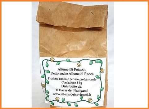 Allume di potassio polvere