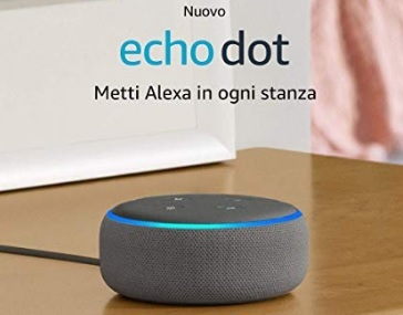 Alexa echo dot altoparlante