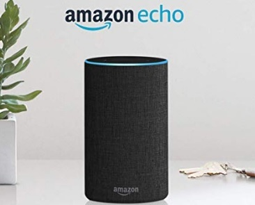 Alexa echo plus antracite