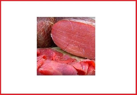 Carne fresca carpaccio di manzo confezione