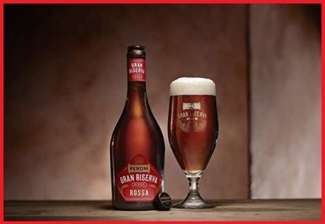 Birra peroni rossa gran riserva