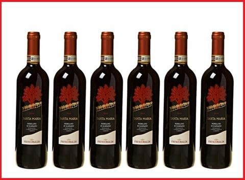 Vino rosso 6 bottiglie