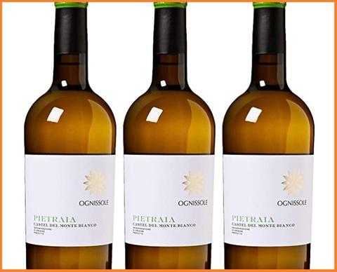 Vino bianchi italiani 3 bottiglie da 750 ml
