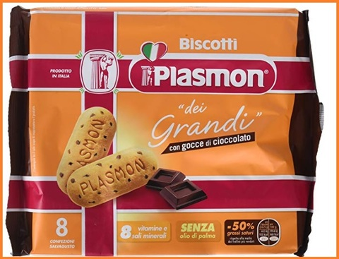 Biscotti plasmon cioccolato