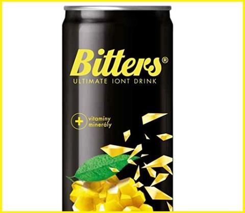 Bitter lemon energy drink