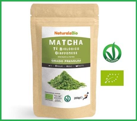Tè Matcha Bio In Polvere 200 Gr